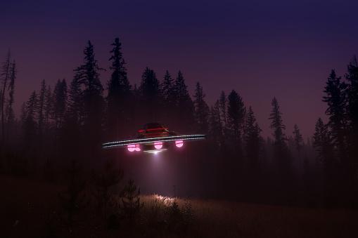 UFO「Ufo at night」:スマホ壁紙(14)