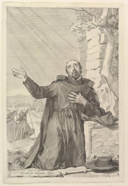 St Ignatius In Ecstasy Creator: Claude Mellan:ニュース(壁紙.com)