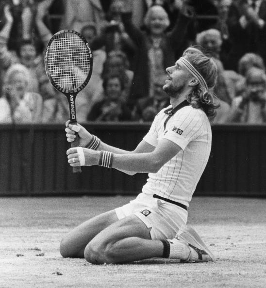 Wimbledon Lawn Tennis Championships「Borg's Relief」:写真・画像(7)[壁紙.com]