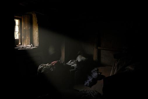 貧困「信号に悪いハウス」:スマホ壁紙(1)