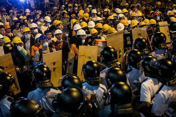 Chris McGrath「Police Continue Efforts To Clear Hong Kong Protest Sites」:写真・画像(14)[壁紙.com]