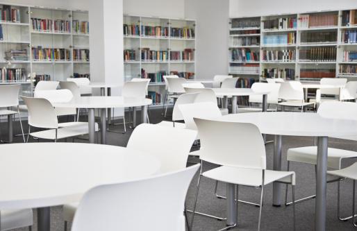 Sports Training「Empty corporate library」:スマホ壁紙(18)