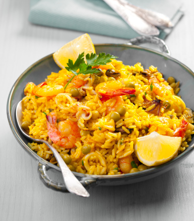 Bush Bean「Seafood Paella」:スマホ壁紙(6)