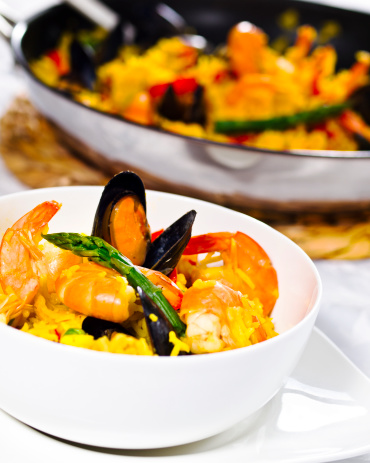 Long Grain Rice「seafood  paella」:スマホ壁紙(8)