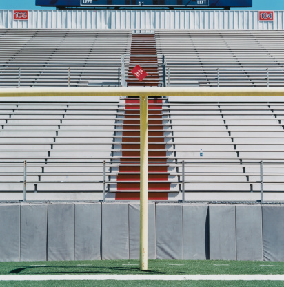 Goal Post「Goalpost in Stadium」:スマホ壁紙(8)