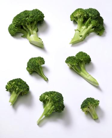 Branch - Plant Part「Broccoli on White」:スマホ壁紙(8)