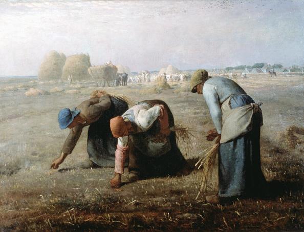 Jean Francois Millet「'The Gleaners', 1857. Artist: Jean Francois Millet」:写真・画像(12)[壁紙.com]