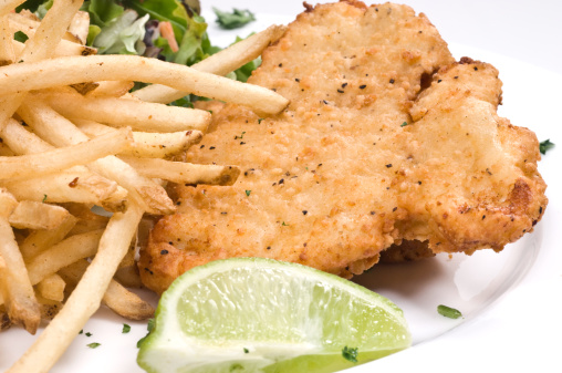 Breaded Chicken「Breaded chicken, salad, and fries」:スマホ壁紙(19)