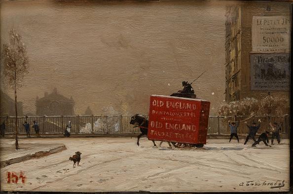 風景(季節別)「Winter In Paris 1870s」:写真・画像(6)[壁紙.com]