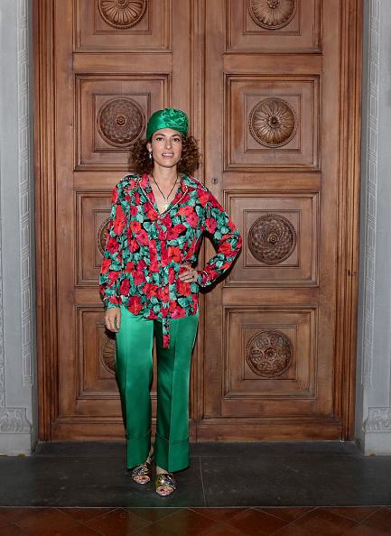 Headdress「Gucci Cruise 2018 - Arrivals」:写真・画像(11)[壁紙.com]