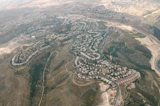 West Bank「Aerial View of East Jerusalem」:写真・画像(6)[壁紙.com]