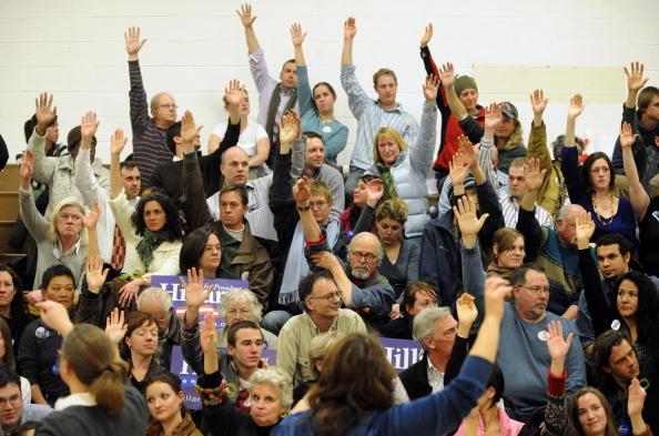 Super Tuesday「Colorado Voters Participate In State's Caucus」:写真・画像(18)[壁紙.com]
