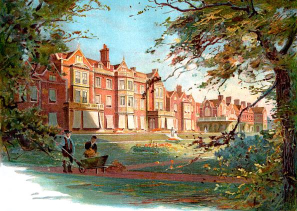 Travel Destinations「Sandringham House - late 19th century illustration」:写真・画像(9)[壁紙.com]