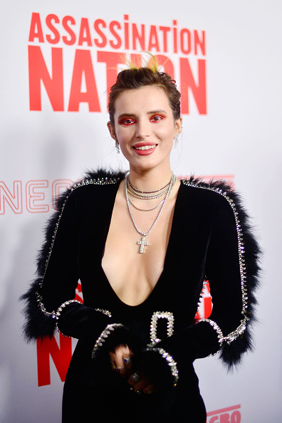 "Cross Shape「Premiere Of Neon And Refinery29's ""Assassination Nation"" - Arrivals」:写真・画像(17)[壁紙.com]"