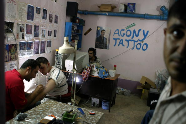 Homemade「Tattoos Become Trend In Baghdad 」:写真・画像(12)[壁紙.com]
