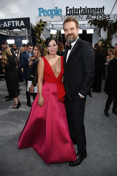 Two-Toned Dress「26th Annual Screen ActorsGuild Awards - Red Carpet」:写真・画像(16)[壁紙.com]