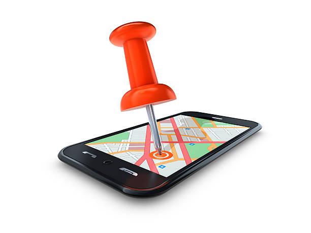 Map Pin in Mobile Cell:スマホ壁紙(壁紙.com)
