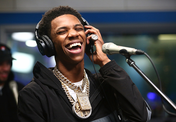 Humor「A Boogie Wit Da Hoodie Performs On SiriusXM's The Heat Channel」:写真・画像(14)[壁紙.com]