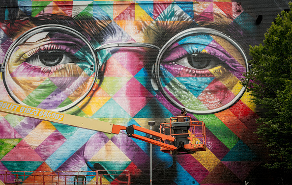 Graffiti「Graffiti Artists Take Part In Upfest」:写真・画像(13)[壁紙.com]
