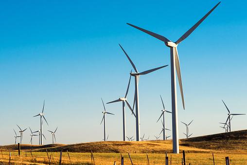 Wind Turbine「Eolic park」:スマホ壁紙(2)