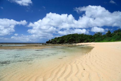 ビーチ「Beach, Iriomote Island, Taketomi, Okinawa, Japan」:スマホ壁紙(10)
