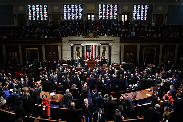 House Of Representatives「U.S. House Of Representatives Votes On Impeachment Of President Donald Trump」:写真・画像(13)[壁紙.com]