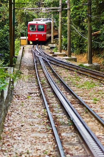Electric train「Corcovado train」:スマホ壁紙(9)