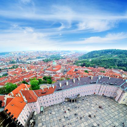 St Vitus's Cathedral「Panoram of Prague」:スマホ壁紙(10)
