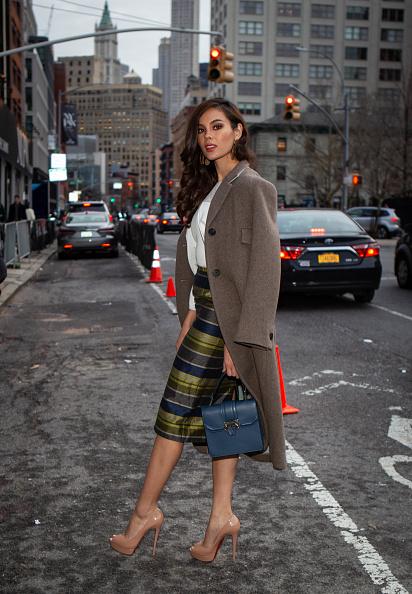 ストリートスナップ「Street Style - New York Fashion Week February 2019 - Day 5」:写真・画像(10)[壁紙.com]