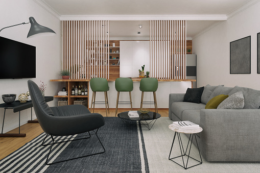 Scandinavia「Functional small apartment」:スマホ壁紙(17)