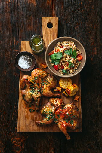 Chimichurri「Grilled whole butterflied chickens」:スマホ壁紙(10)