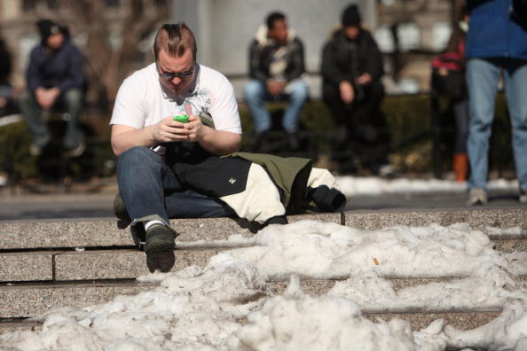 Heat - Temperature「New York City Gets Break From Snow And Severe Cold Snap」:写真・画像(5)[壁紙.com]