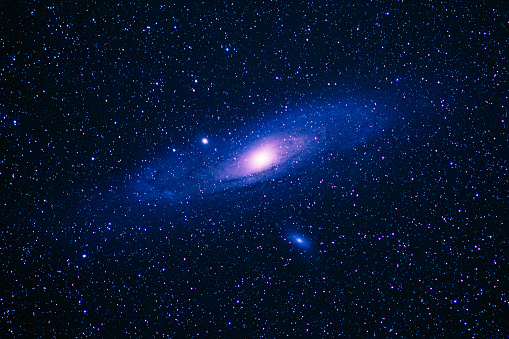 Space and Astronomy「The Andromeda galaxy imaged from the White Mountains of California」:スマホ壁紙(19)