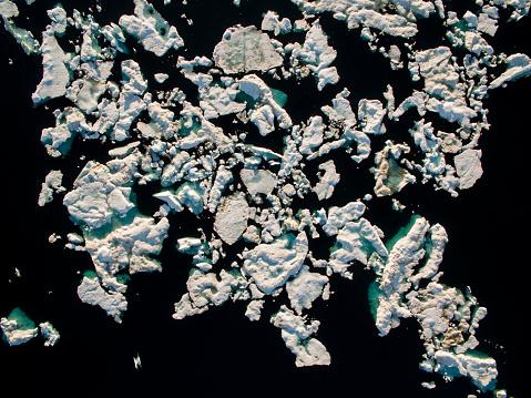 Pack Ice「Sea Ice in Wager Bay, Ukkusiksalik National Park, Nunavut, Canada」:スマホ壁紙(1)