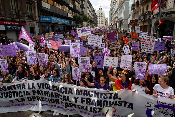 Madrid「Women's Day In Madrid」:写真・画像(16)[壁紙.com]