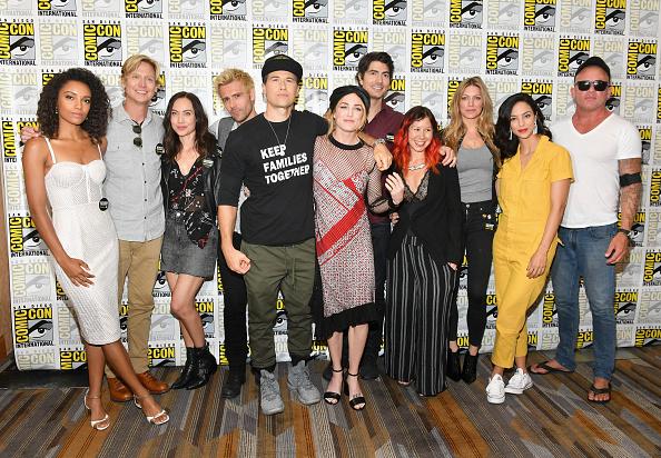 "Comic con「Comic-Con International 2018 - ""DC's Legends Of Tomorrow"" Press Line」:写真・画像(18)[壁紙.com]"