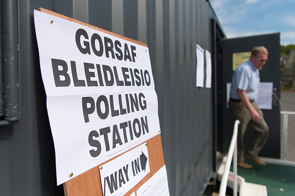 Polling Place「British Voters Go To The Polls In The European Elections」:写真・画像(3)[壁紙.com]