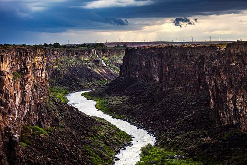 Steep「Malad Gorge Canyon, Idaho」:スマホ壁紙(13)