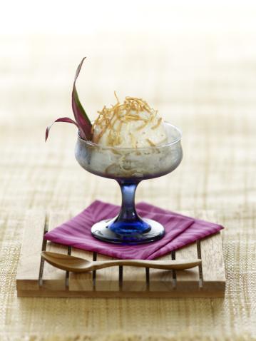 アイスクリーム「Banana-Coconut Dairy-Free Ice Cream」:スマホ壁紙(3)