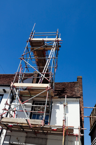 Restoring「Structural repairs with scaffolding」:スマホ壁紙(10)
