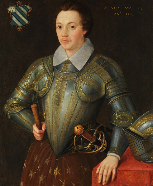 Elizabethan Style「Sir John Shurley Of Isfield (1565-1632). Creator: British Painter (Dated 1588).」:写真・画像(11)[壁紙.com]