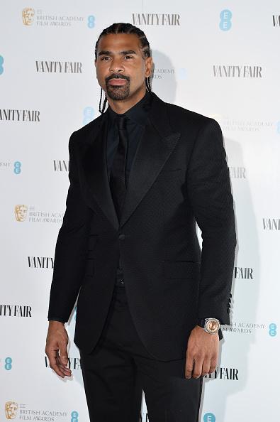 David Haye「Vanity Fair EE Rising Star BAFTAs Pre Party - Red Carpet Arrivals」:写真・画像(9)[壁紙.com]