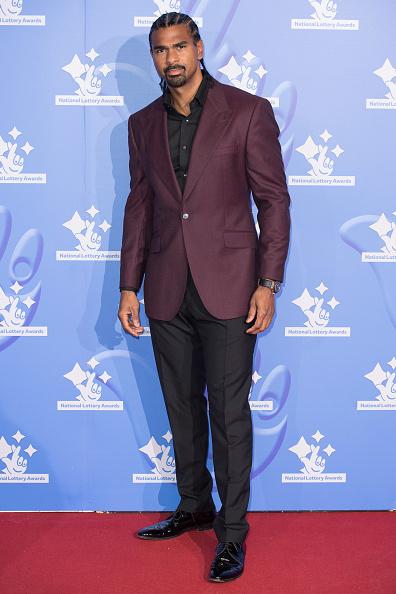 David Haye「National Lottery Awards 2018 - Red Carpet Arrivals」:写真・画像(12)[壁紙.com]