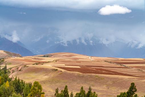 Urubamba Valley「The road to Moray from Maras」:スマホ壁紙(4)