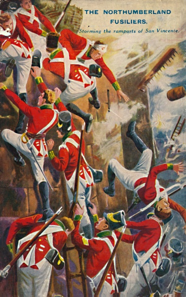 Patriotism「The Northumberland Fusiliers Storming The Ramparts Of San Vincente」:写真・画像(18)[壁紙.com]