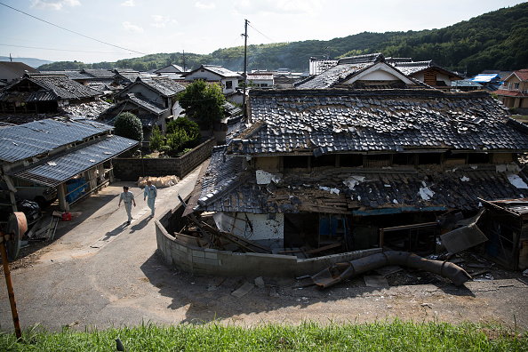 Damaged「Historic Heavy Rain And Landslides Hit Japan」:写真・画像(13)[壁紙.com]
