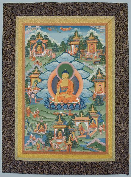 Tanka「Tangka With Buddha」:写真・画像(6)[壁紙.com]