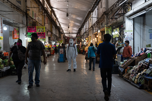 Mexico「Largest Market in Latin America Continues To Work Amid Coronavirus Pandemic」:写真・画像(6)[壁紙.com]