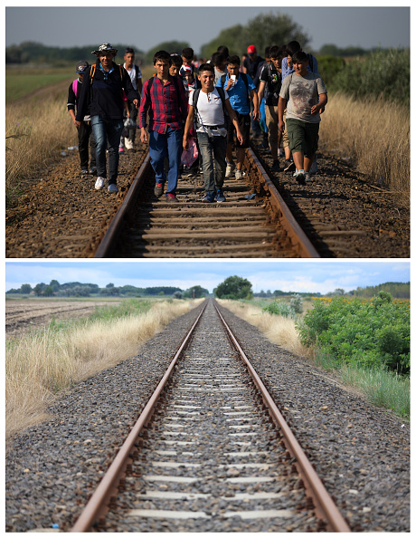 Railroad Track「Key Locations Of The 2015 Migrant Crisis Revisited」:写真・画像(0)[壁紙.com]