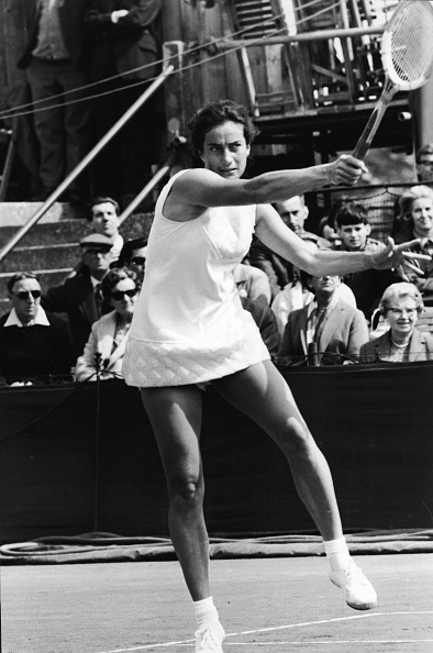プロスポーツ選手「Virginia Wade At The 1968 US Open」:写真・画像(13)[壁紙.com]